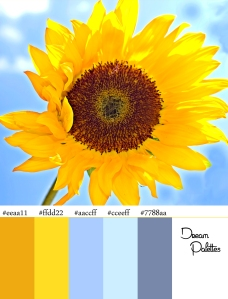 Palette 3 Sunflower